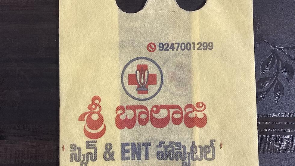Printing non-woven bags