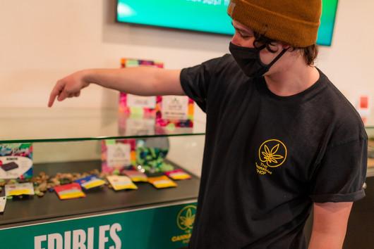 The Cannabist Shop Worker