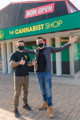 The Cannabist Shop Store Front