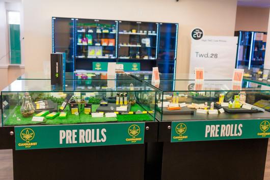 The Cannabist Shop Interior