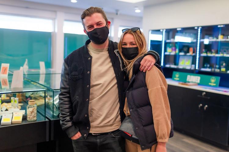 The Cannabist Shop Customer
