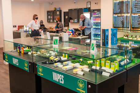 The Cannabist Shop Worker Inside