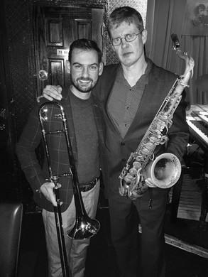 with Eric Alexander (Smoke Jazz Club, NY