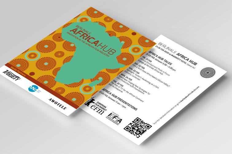 AfricaHUB Postkarte