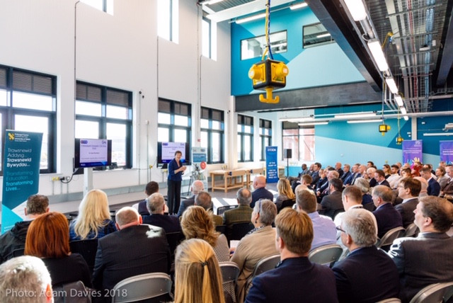Wales' landmark new £6.5M Construction centre officially opens at UWTSD University Swansea