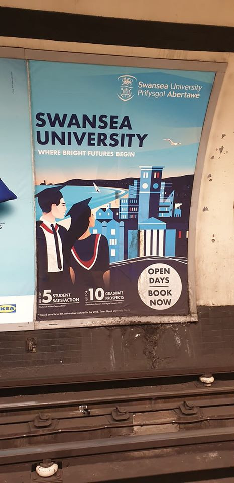 Swansea University - Going Underground!