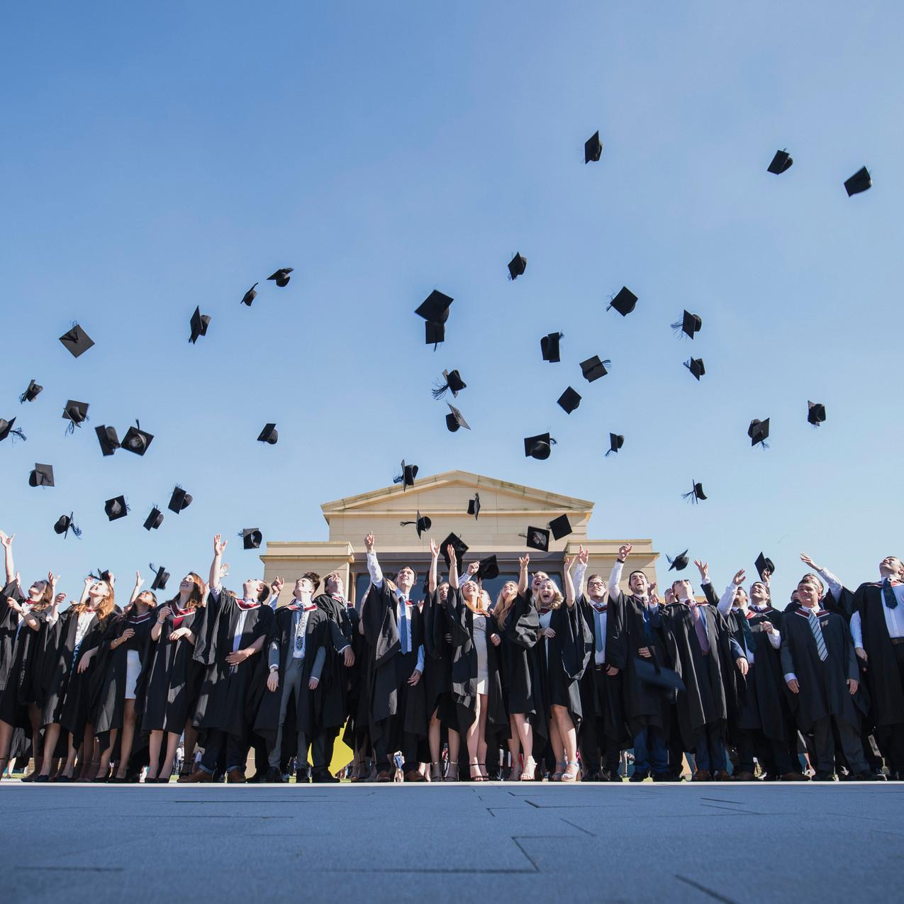952-graduation-summer 2016 throw hats wi