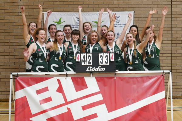 Swansea University celebrate highest-ever BUCS finish