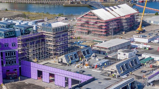 University of Wales Trinity Saint David (UWTSD) SA1 Waterfront University to open September 2018