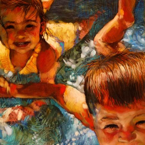 Watercolor & pastel