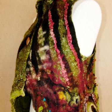 Custom Wet Felted Vest