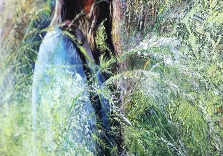 #2.  September Asparagus (detail)