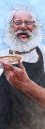 #34  Study of a Pie Man