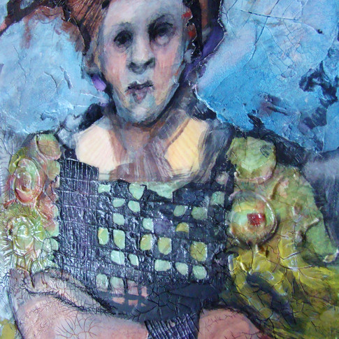 Acrylic mixed-media