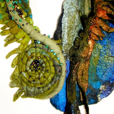 Fiddle-Head Fern Collar