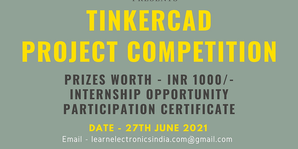 TinkerCAD Project Competition