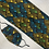 Thumbnail: African brown print wrap