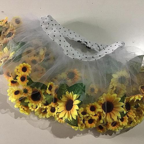 Floating flower skirt (sunflowers medium)