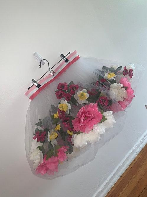 Floating flower skirt (pink large)