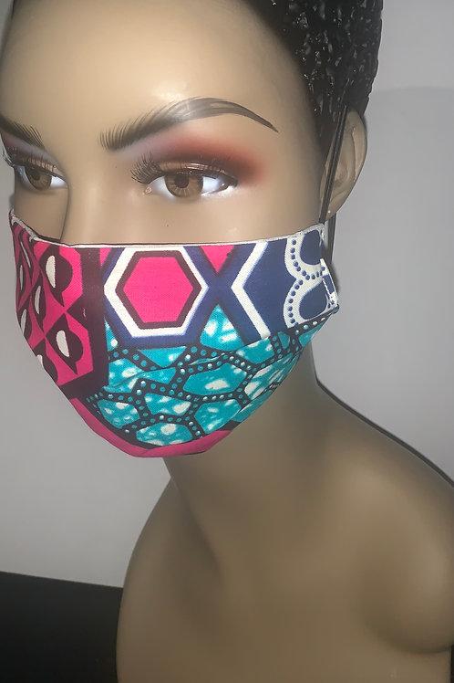 African prints Face Masks