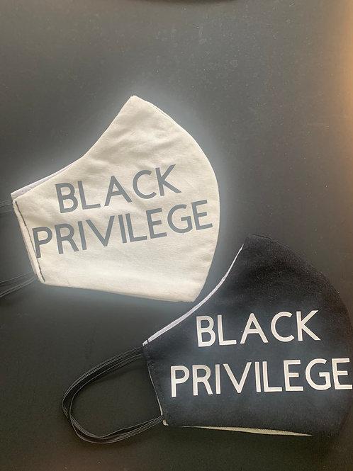 Black Privilege masks