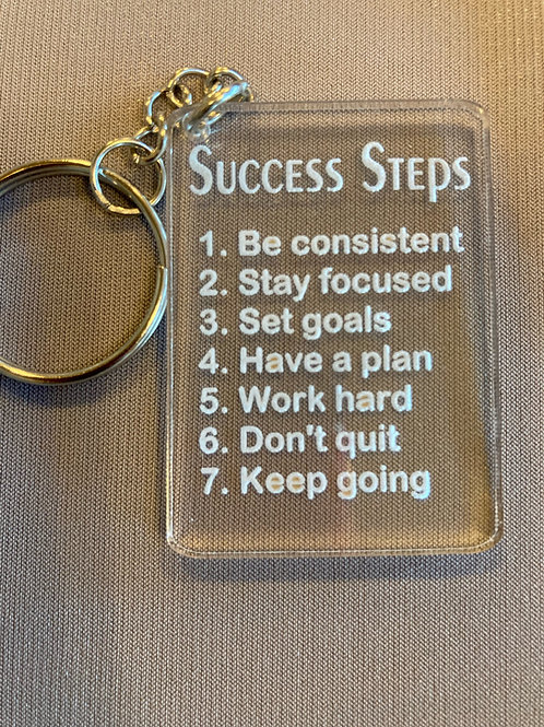 Success key chains