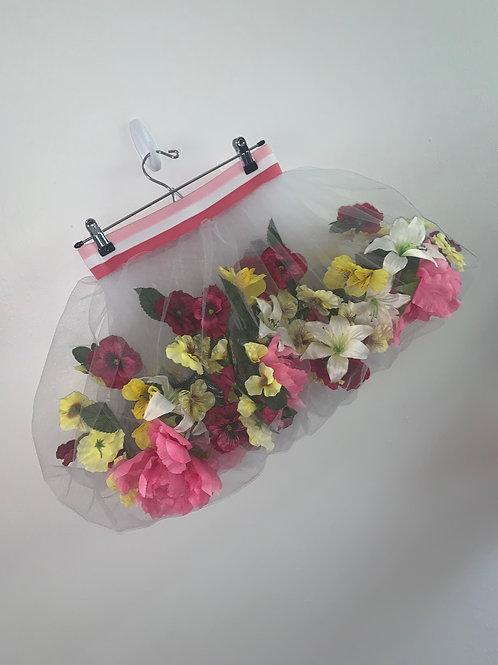 Floating flower skirt (pink medium)