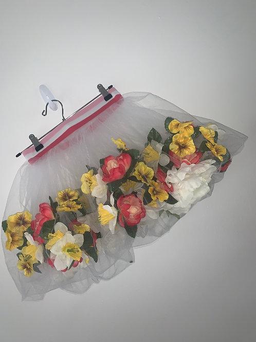 Floating flower skirt (pink small)