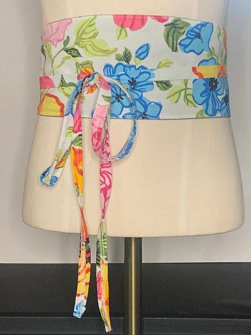 Floral waist tie