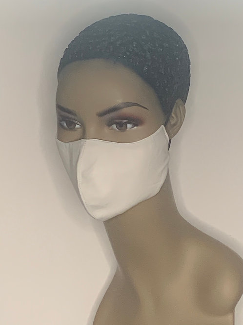 Contoured solid Face Mask