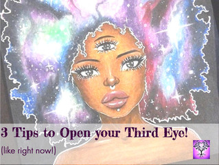 3 Tips to Open your Third Eye (like, right now!)