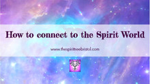 How to connect to the Spirit World