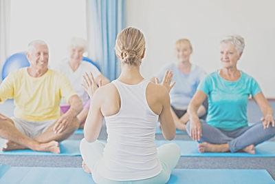 yoga in kleinergruppe
