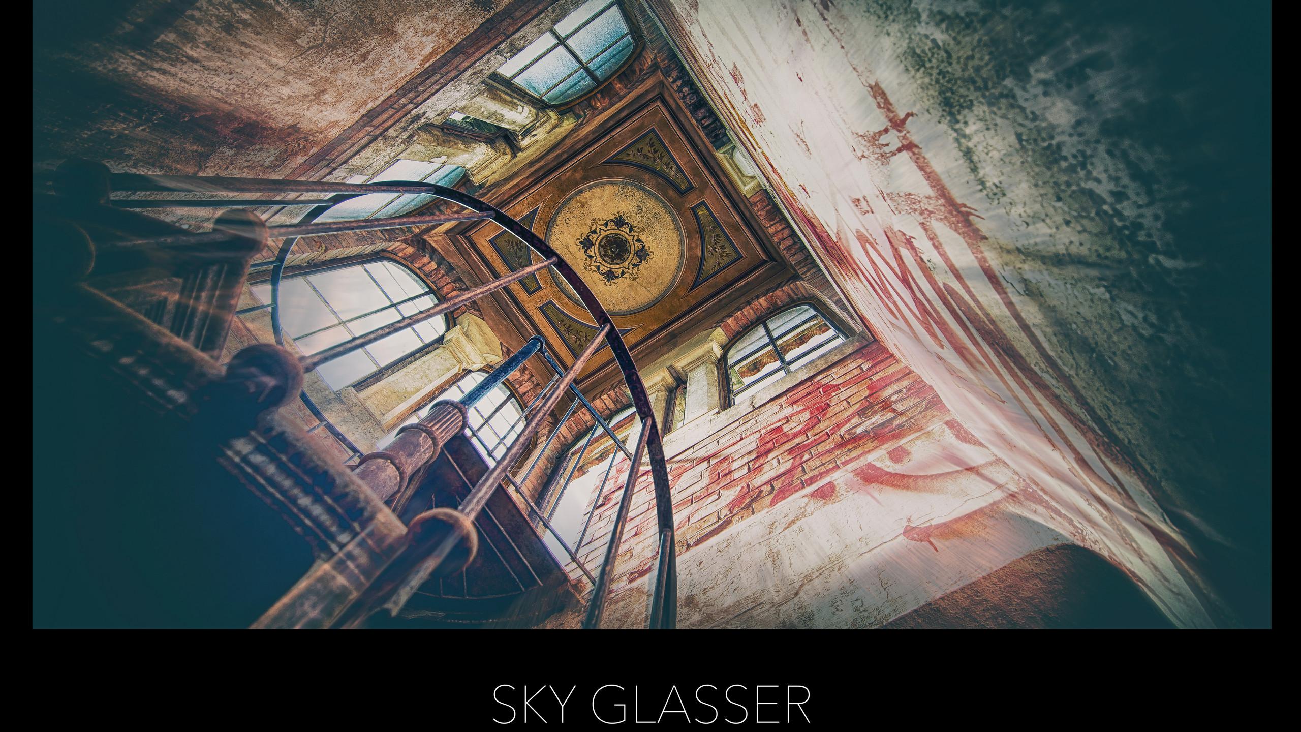 POSTER SKY GLASSER