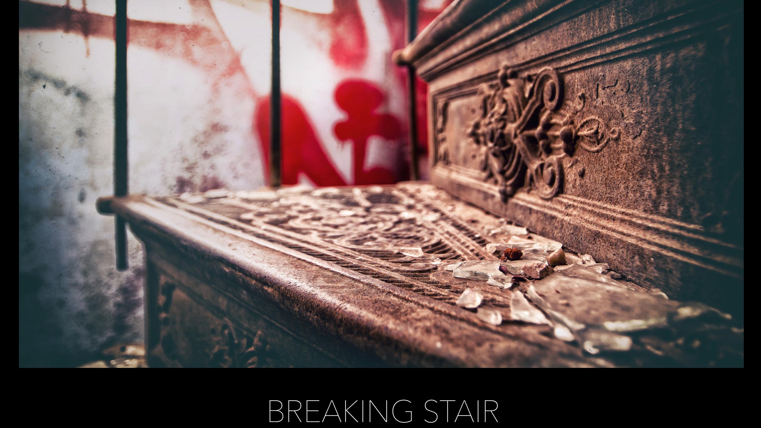 POSTER BREAKING STAIR