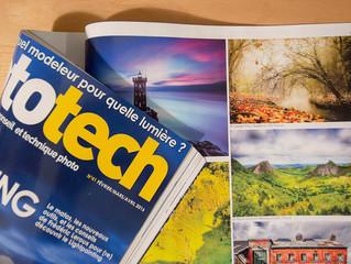 Publication dans le Mag Phototech