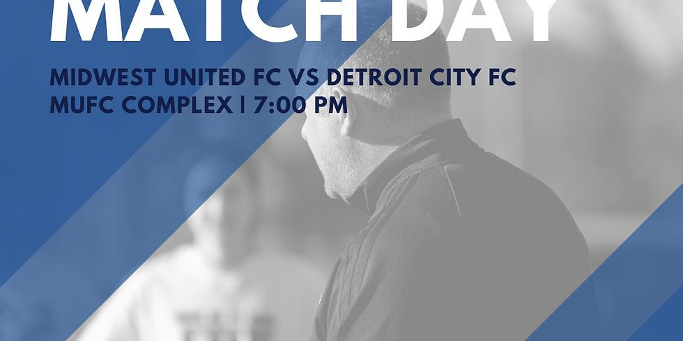 MUFC Women vs Detroit City FC