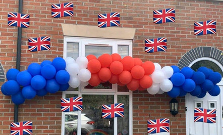 VE Day Balloons