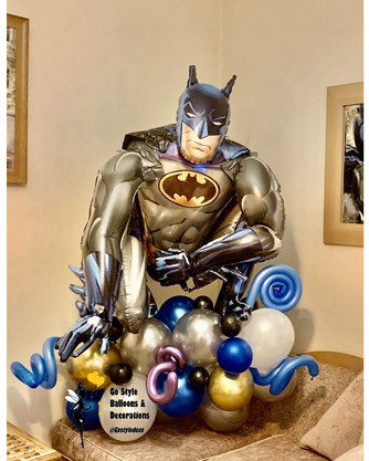 Batman Birthday Balloons