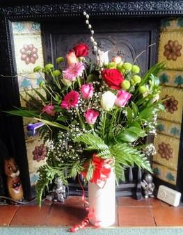 Bespoke flower arrangements