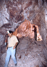 Cueva dentro de La Mina