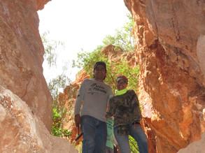 Entrada a una Cueva de la Mina San Felipe Cerro Viejo