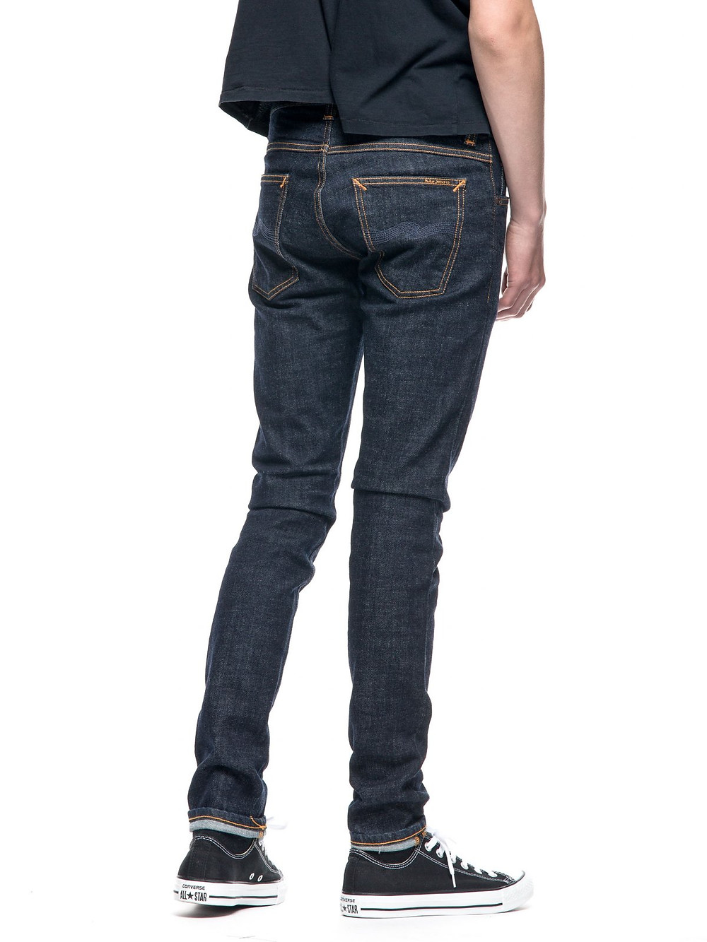 nudie jeans tight terry rinse twill タイトテリー リンスツイル