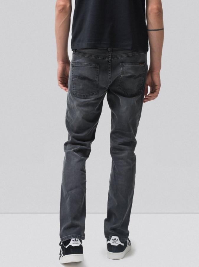 リーンディーン LeanDean グレー デニム ジーンズ ヌーディジーンズ Nudie Jeans