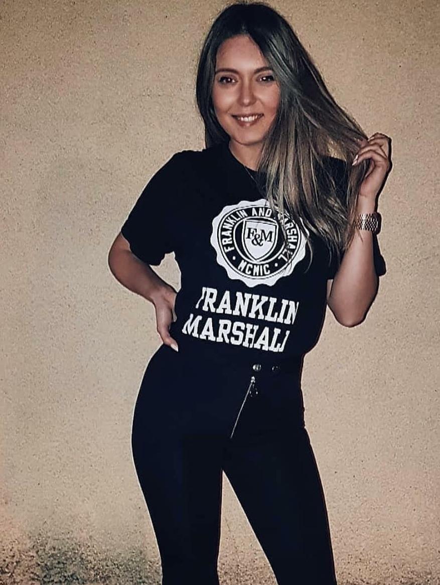 FRANKLIN&MARSHAL フランクリンアンドマーシャル Tシャツ T-shirt アーチロゴ