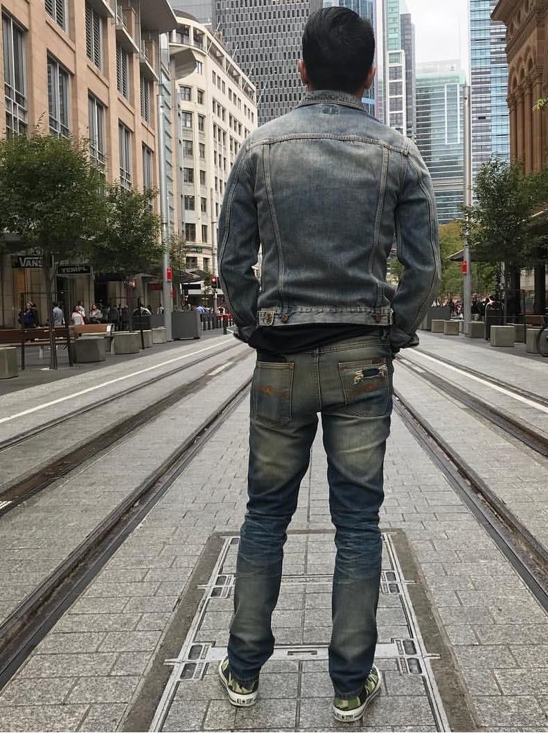 THIN FINN MartinReplica シンフィン マーティンレプリカ Nudie Jeans