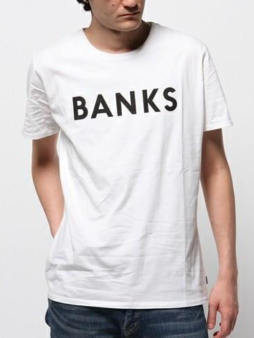 BANKS JOURNAL Classic t-shirt バンクス Tシャツ