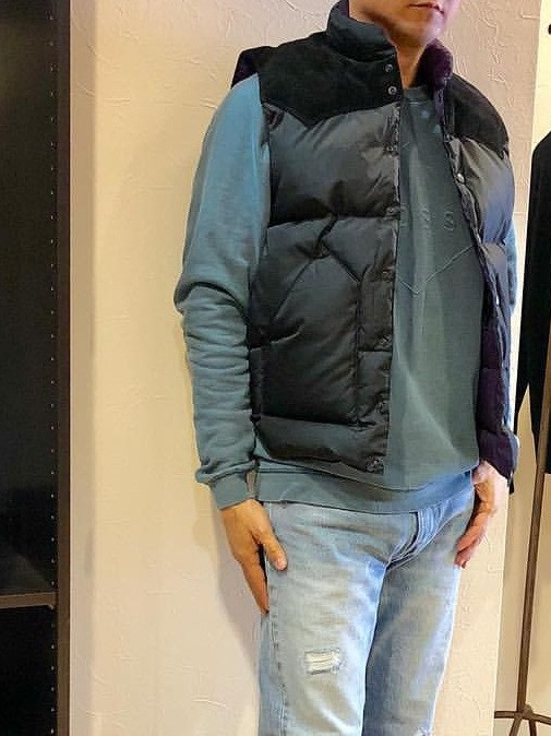 rocky mountain featherbed ロッキーマウンテンフェザーベッド ダウンベスト Down vest