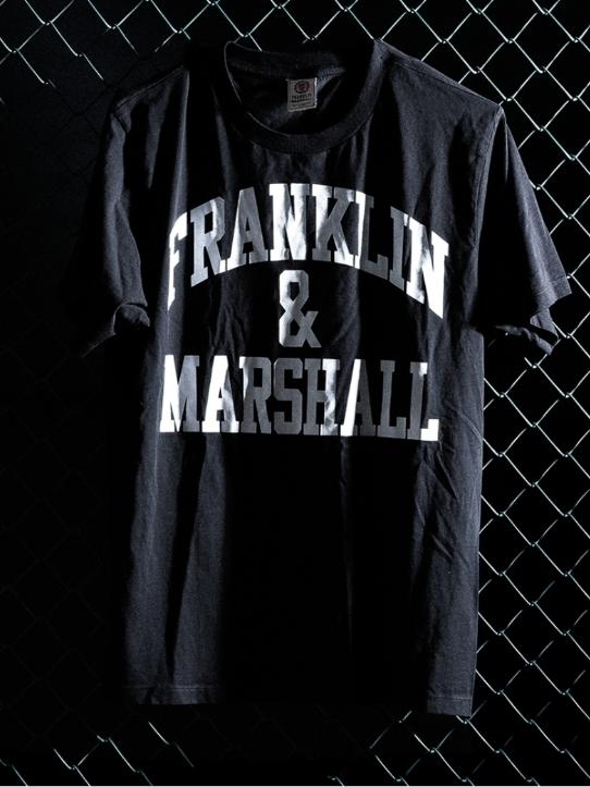 FRANKLIN&MARSH T-shirt フランクリンマーシャル Tシャツ アーチロゴ
