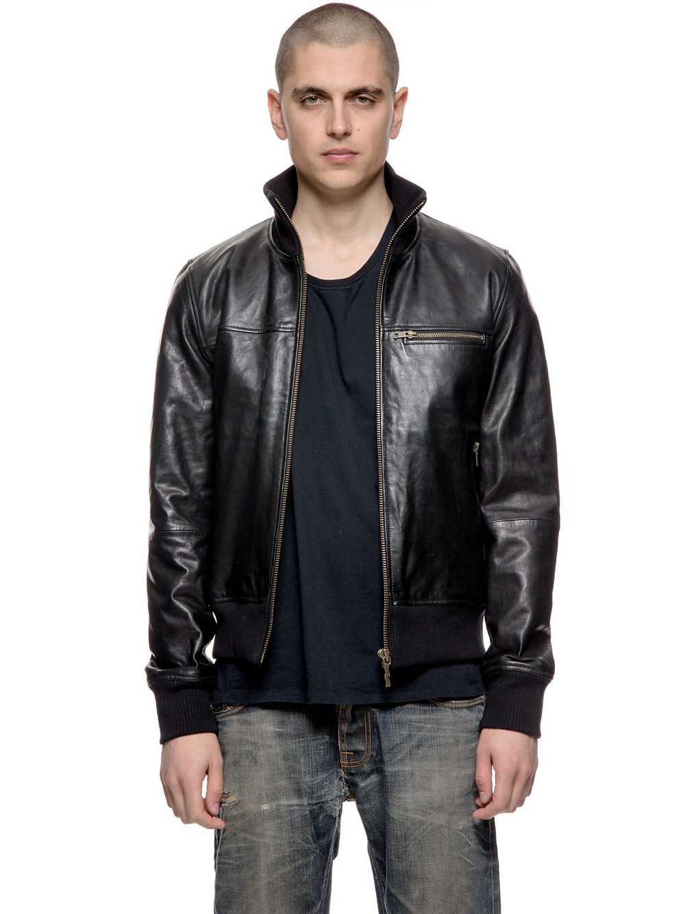 nudie jeans Kristoffer leather